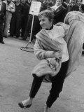 Actress Debbie Reynolds Premium Photographic Print by Loomis Dean