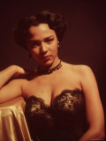 Portrait of Singer and Actress Dorothy Dandridge Premium Photographic Print by Ed Clark