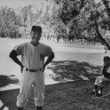 Yankee&#39;s Manager Ralph Houk, During Spring Training Premium Photographic Print by Tony Kubek