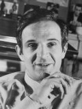 French Film Director Francois Truffaut Metal Print by Pierre Boulat