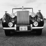 Vintage Rolls Royce Taken at a Montreal Meet of the Rolls Royce Owners Club in August, 1958 Photographic Print by Walker Evans