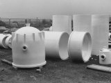 Corrosion Resistant Stoneware and Porcelain Products for the Chemical Industry Premium Photographic Print by Walker Evans