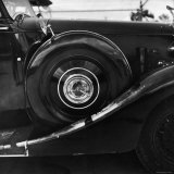 1939 Wraith taken at a Montreal meet of the Rolls-Royce Owners Club in August, 1958 Photographic Print by Walker Evans