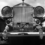 Grill of Vintage Rolls Royce Taken at Montreal Meet of the Rolls Royce Owners Club in August, 1958 Photographic Print by Walker Evans