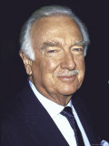 Former Television News Anchor Walter Cronkite Premium Photographic Print by David Mcgough