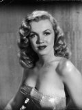 Movie Starlet Marilyn Monroe Posing in Studio Metal Print by J. R. Eyerman