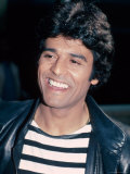 Actor Erik Estrada Premium Photographic Print by David Mcgough