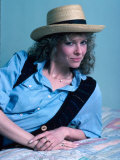 Actress Kate Capshaw Premium Photographic Print by David Mcgough