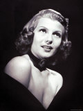 Movie Star Rita Hayworth, the Love Goddess of the Cinema Premium Photographic Print by John Florea