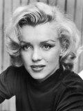 Actress Marilyn Monroe at Home Fototryk i høj kvalitet af Alfred Eisenstaedt