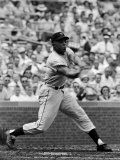 New York Giants Centerfielder Willie Mays at Bat Premium Photographic Print by Alfred Eisenstaedt