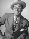 Comedian Phil Silvers Performing Premium Photographic Print by John Florea