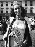 Miss America Winner Bess Myerson Premium Photographic Print by Alfred Eisenstaedt