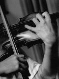 Violinist Yehudi Menuhin Premium Photographic Print by Horace Bristol
