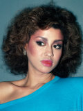 Singer Phyllis Hyman Premium Photographic Print by David Mcgough