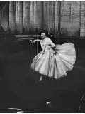 Actress and Singer Judy Garland Twirling Into a Dance Step During a Performance at the Palladium Premium Photographic Print by Cornell Capa