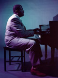 Jazz Pianist Oscar Peterson Premium Photographic Print by Eliot Elisofon