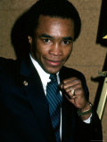 Professional Boxer Sugar Ray Leonard Premium Photographic Print by David Mcgough