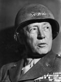 Gen. George Patton Premium Photographic Print by Margaret Bourke-White