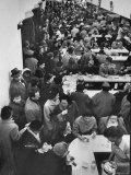 Chock Full O' Nuts Lunch Counter Jammed with Shoppers and Department Store Workers Premium Photographic Print by Alfred Eisenstaedt