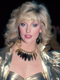 Actress Morgan Fairchild Premium Photographic Print by David Mcgough
