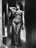 Actress Sophia Loren Costumed in Brothel Scene From the Movie &quot;Marriage Italian Style&quot; Premium Photographic Print by Alfred Eisenstaedt