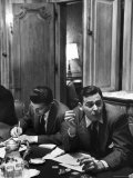 Critic James Agee Attending Life's Round Table Discussion on the Movies Premium Photographic Print by Cornell Capa