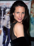 Actress Andie MacDowell Premium Photographic Print by Marion Curtis