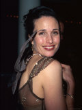 "Andie MacDowell at ""Michael"" Premiere at the Museum of Modern Art Premium Photographic Print by Dave Allocca"