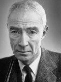 Dr. Robert J. Oppenheimer, Photographic Print, Eisenstaedt