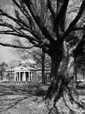 Monticello, House Thomas Jefferson Built for Himself on Top of Little Mountain Near Charlottesville Photographic Print by Alfred Eisenstaedt