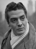 Portrait of Actor Victor Mature Premium Photographic Print by Alfred Eisenstaedt