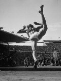 Jurii Iljasov of Russia Competing in 1952 Olympics Premium Photographic Print by Mark Kauffman