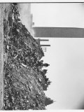 Heaps of Rubble and Dirt at Building Site for United Nations Permanent Headquarters Premium Photographic Print by Walker Evans