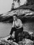Naturalist Rachel Carson Premium Photographic Print by Alfred Eisenstaedt