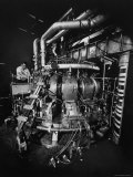 Symmetrical Tokamak: Research Device for Controlled Thermonuclear Fusion in Princeton's Physics Lab Premium Photographic Print by Yale Joel