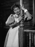 "Actress Pearl Bailey Performing in the Musical ""St. Louis Woman"" Premium Photographic Print by Al Fenn"