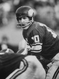 Quarterback for Vikings No.10 Francis Tarkenton Premium Photographic Print by Bill Eppridge