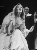 "Opera Singer Joan Sutherland in the Title Role of ""Lucia Di Lammermoor"" at the Metropolitan Opera Premium Photographic Print by Alfred Eisenstaedt"