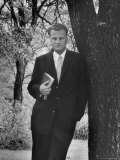 Evangelist Billy Graham Premium Photographic Print by Alfred Eisenstaedt
