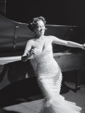 Dorothy Dandridge Dancing on a Night Club Dance Floor Premium Photographic Print by Ed Clark