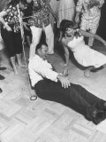 Dancing the Limbo at Party Premium Photographic Print by Ralph Crane