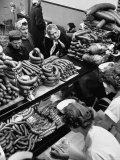 Polish Sausage Store Customers Have 60 Varieties from Which to Choose Premium Photographic Print by John Dominis