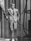 TV Showman, Ed Sullivan Premium fototryk af Yale Joel