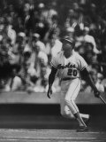 Orioles Player Frank Robinson, During Game Against the Dodgers in the World Series Premium Photographic Print by Bob Gomel