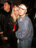 Rapper Eminem and Wife Kim at His Record Release Party Premium Photographic Print by Marion Curtis