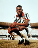 Footballer Pele Photo