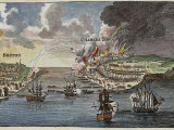 Attack on Bunker Hill and Burning of Charlestown Known asBattle of Bunker's Hill Photographic Print