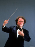 Portrait of Metropolitan Opera Conductor James Levine Premium Photographic Print by Ted Thai