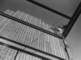 Iron Workers Posing Atop Highest Girders of Newest Rockefeller Center Building Photographic Print